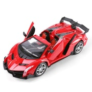 Red Remote Control Cruz Sport Car Convertibles Fast Speed Furious Turbo Racer Scale 1:15 (TOYCAR111)