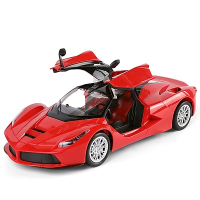 Speedy Red Remote Control Sport Car Convertibles Fast Furious Classic Race Scale 1:14 (TOYCAR113)
