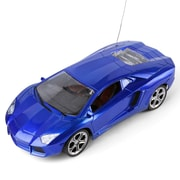 Blue Rc Sports Car Thunder Speed Race Cars Fast Furious Classic Scale 1:14 Sound Flash Light (TOYCAR119)
