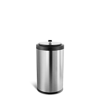 Nine Stars Stainless Steel Motion Sensor Trash Can, 3.1 Gallon (DZT-12-18)