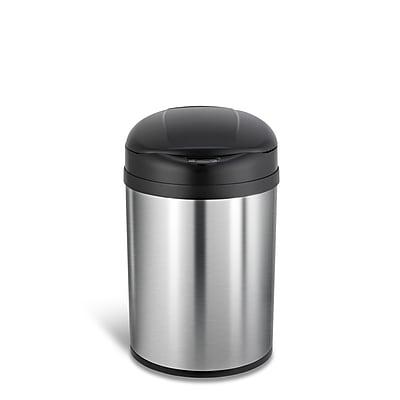 Nine Stars Stainless Steel Motion Sensor Trash Can, 8.1 Gallon (DZT-31-8)