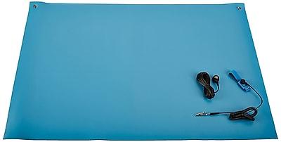 Bertech ESD High Temperature Mat Kit, 2ft. x 4ft., Blue (2059T-2x4BKT)
