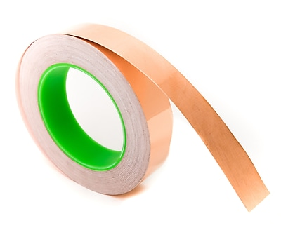 Bertech Copper Conductive Tape, 1/2 inch wide by 36 yards long (CFT-1/2)