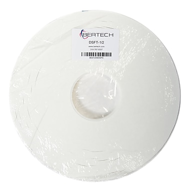 Bertech Double Sided Foam Tape, 1/2 inch wide x 36 yards long (DSFT-1/2)