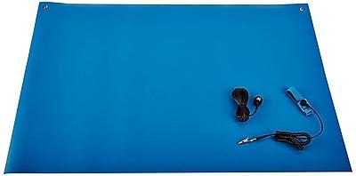 Bertech ESD Rubber Mat Kit, 2ft. x 4ft., Blue (2059R-2x4BKT)