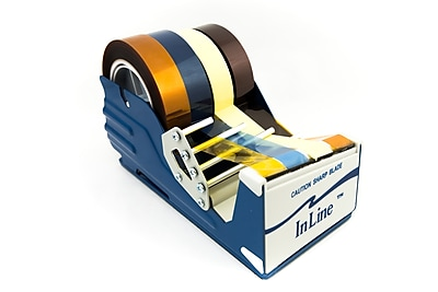 Bertech Industrial Grade Tape Dispenser for tapes up to 4 inches wide (KTD4)