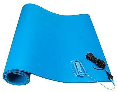 Bertech ESD Foam Mat Kit, 2ft. X 3ft., Blue (ESDFM-2X3BKT)