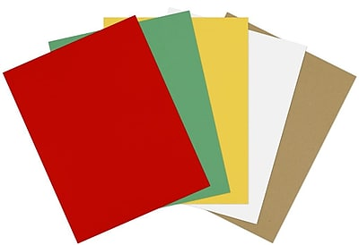 LUX 8 1/2 x 11 Paper 500/Sheets, Holiday Multicolor Pack (11PHCOLORPACK10)