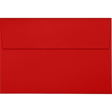 LUX A10 Invitation Envelopes (6 x 9 1/2) 50/Pack, Ruby Red (LUX-4590-18-50)