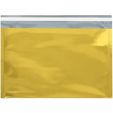 LUX 9 1/2 x 12 3/4 Metallic Glamour Mailers 1000/Pack, Gold (M912X1234GD-1M)
