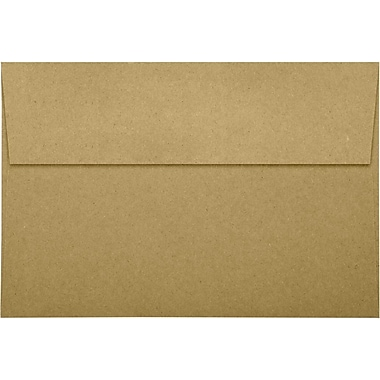 LUX A10 Invitation Envelopes (6 x 9 1/2) 250/Pack, Grocery Bag (LUX-4590-GB-250)