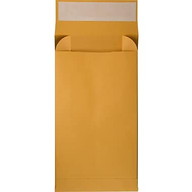 LUX 12 x 15 x 3 Expansion Envelopes 1000/Pack, 40 lb. Brown Kraft (EXP1215340BK1M)