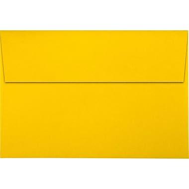 LUX A10 Invitation Envelopes (6 x 9 1/2) 1000/Pack, Sunflower (LUX-4590-12-1M)