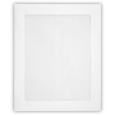 LUX 8 1/2 x 10 1/2 Head Shot Envelopes 250/Pack, White (4892FFW-80W-250)