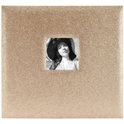 "MBI Glitter Golden Expressions Post Bound Album w/Window, 12"" x 12"" (860136)"