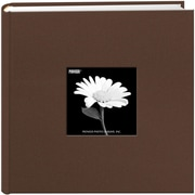"Pioneer Chocolate Brown Cloth Photo Album w/Frame, 9"" x 9"" (200CBFE-62027)"
