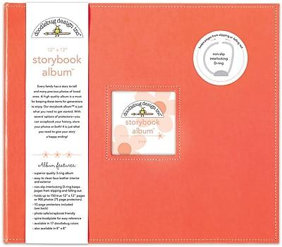Doodlebug Coral Storybook Album, 12
