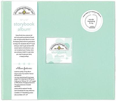Doodlebug Mint Storybook Album, 12