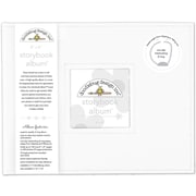 "Doodlebug Lily White Storybook Album, 8"" x 8"" (DBSBA8-5730)"