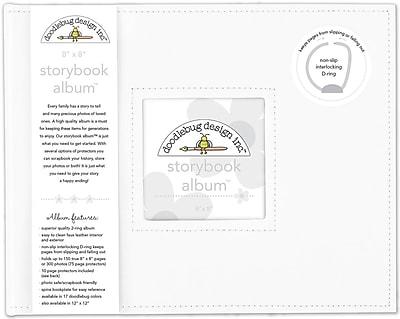 Doodlebug Lily White Storybook Album, 8