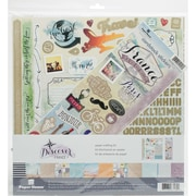"Paper House France Paper Crafting Kit, 12"" x 12"" (KTSP1037)"