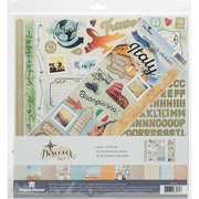 "Paper House Italy Paper Crafting Kit, 12"" x 12"" (KTSP1038)"