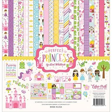 Echo Park Paper Perfect Princess Collection Kit, 12