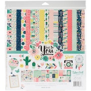 """Echo Park Paper Just Be You Collection Kit, 12"""" x 12"""" (JBY19016)"""