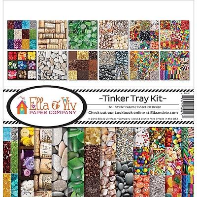 Reminisce Tinker Tray Ella & Viv Collection Kit, 12