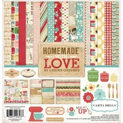 "Echo Park Paper Homemade With Love Carta Bella Collection Kit, 12"" x 12"" (HL23016)"