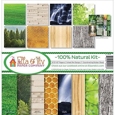 Reminisce 100% Natural Ella & Viv Collection Kit, 12
