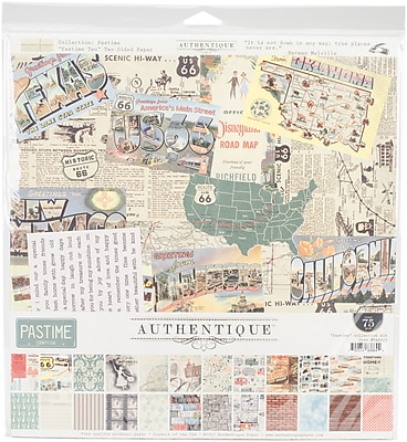 Authentique Paper Pastime Collection Kit, 12