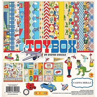 Echo Park Paper Toy Box Carta Bella Collection Kit, 12