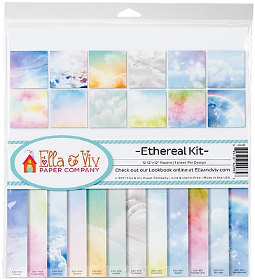 Reminisce Ethereal, 12 Designs/1 Each Ella & Viv Collection Kit, 12