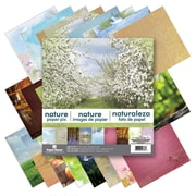 """Paper House Nature Double-Sided Paper Pad, 12"""" x 12"""", 24/Pkg (PHP12-0036)"""