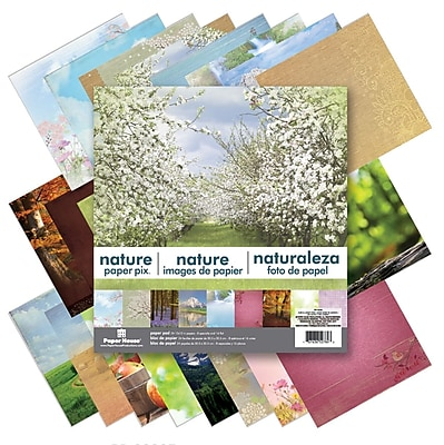Paper House Nature Double-Sided Paper Pad, 12