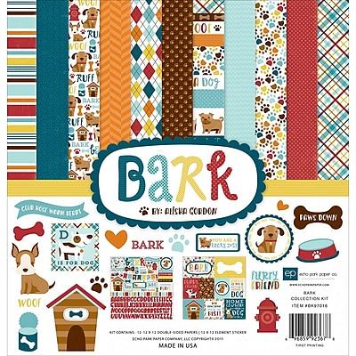 Echo Park Paper Bark Collection Kit, 12