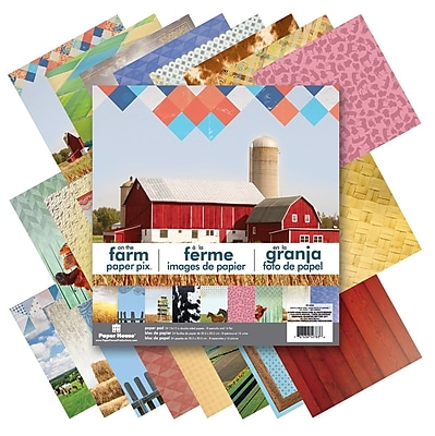 Paper House Farm Double-Sided Paper Pad, 12