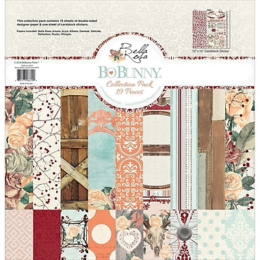 BoBunny Bella Rosa Collection Pack, 12