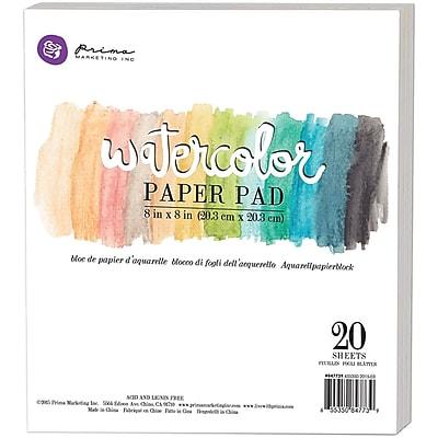 Prima Marketing Watercolor Paper Pad, 8