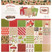 """American Crafts Merry Merry Pebbles Project Pad, 12"""" x 12"""" (733567)"""