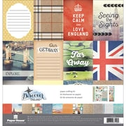 "Paper House England Paper Crafting Kit, 12"" x 12"" (KTSP1036)"
