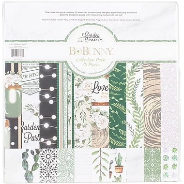 BoBunny Garden Party Collection Pack, 12