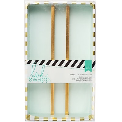 American Crafts Heidi Swapp Memorydex Card Tray, 7.5
