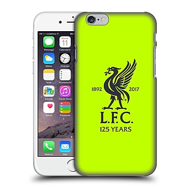 Official Liverpool Football Club Kit 2017/18 Third Goalkeeper Shirt Hard Back Case For Apple Iphone 6 / 6S