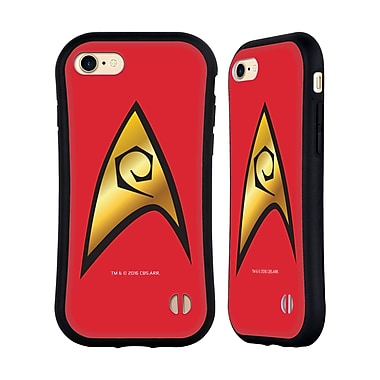 Official Star Trek Uniforms And Badges Tos Operations Solo Hybrid Case For Apple Iphone 7 / 8