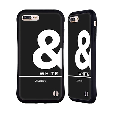Official Juventus Football Club Lifestyle Ampersand Hybrid Case For Apple Iphone 7 Plus / 8 Plus