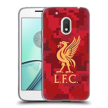 Official Liverpool Football Club Digital Camouflage Home Red Soft Gel Case For Motorola Moto G4 Play