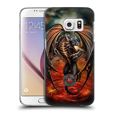 Official Anne Stokes Dragons Lava Hard Back Case For Samsung Galaxy S7