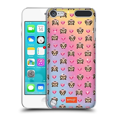Official Emoji Patterns Monkey Hard Back Case For Ipod Touch 5th Gen / 6th Gen
